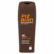 Piz Buin In Sun Moisturising Sun Lotion SPF 15 Medium 200ml