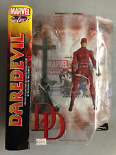 2012 MARVEL SELECT DAREDEVIL SPECIAL COLLECTOR ACTION FIGURE & DISPLAY TOY SET