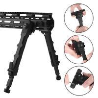 "M-LOK 7.5""-9"" Rifle Bipod Lightweight Adjustable for Gun Hunting Matte Black YU"