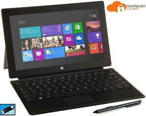 Microsoft Surface Pro 1 Touch Intel i5-3317U 4 GB RAM 128 GB SSD Win 10 Pro FHD