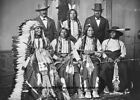 Внешний вид - 1877 Sioux Delegation PHOTO Arapaho Indians Native Americans Chiefs Group