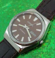 Vintage CITIZEN Self Winding Man's Wristwatch SERVICED W/ WARRANTY