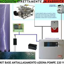 Antiallagamento Kit Allarme Sirena Aziona Idrovore Sensore Acqua Liquidi Condutt
