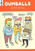 Gumballs #2 Sub cover Erin Nations 2017 Top Shelf Comic IDW NM 1st Print