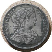 elf Germany Frankfurt Free City 2 Thaler (3 1/2 Gulden) 1866