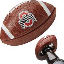 "OHIO STATE - MAGNETIC ""MINI-REPLICA"" FOOTBALL BOTTLE OPENER - ""NEW"""