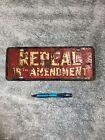Repeal 18th amendment license plate topper