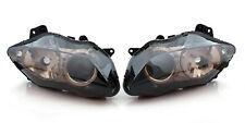 Phare Headlight pour Yamaha YZF 1000 R1 2007-2008 Smoke AF