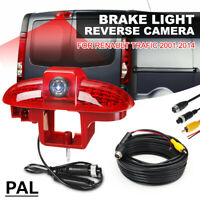 Car LED High Mount Brake Light w/ Rear View Camera For Renault Trafic 2001-2014