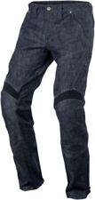 Pantalones de denim para motoristas para hombre