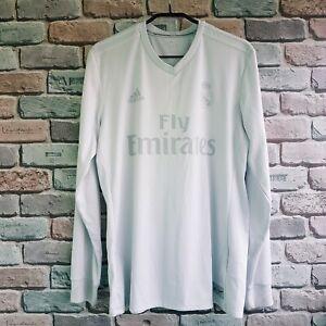 SPECIAL Parley Real Madrid 2016 2017 long sleeve camiseta shirt size M Ronaldo