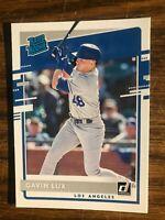 2020 Panini Donruss  #44 Gavin Lux  Los Angeles Dodgers Rated Rookie  NrMt