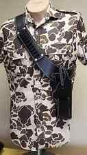 Grizzly Pistol Shoulder Belt and Holster with Magazine Pouch