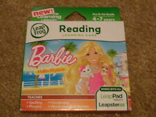 New Leap Frog Leapster Leappad Explorer Game Barbie Malibu Mysteries 4-7 Yrs