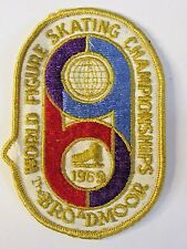 1969 WORLD FIGURE SKATING CHAMPIONSHIPS The Broadmoore ice skating shirt patch