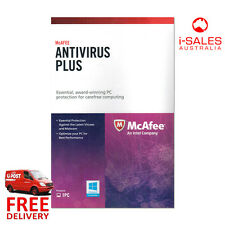 McAfee Anti-Virus Plus 1 Year Subscription license Activation Card No CD Needed