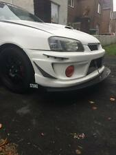 STUKE FRONT SPLITTER LIP GLANZA V STARLET ALUMINIUM DOWNFORCE CANARDS