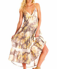 BNWT BILLABONG LADIES FORSAKEN SUMMER DRESS (MOON) SIZE 10 RRP $89.99