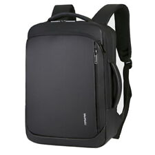 Men's Waterproof Laptop Rucksack Business Large Backpack With USB Charging Bag.