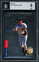 1993 SP FOIL #279 DEREK JETER RC (HOFer) NEW YORK YANKEES BGS 9 MINT Rookie Card