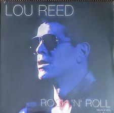 """LOU REED - ROCK 'N' ROLL - 180 GRAM BLUE VINYL LP """" NEW, SEALED """""""