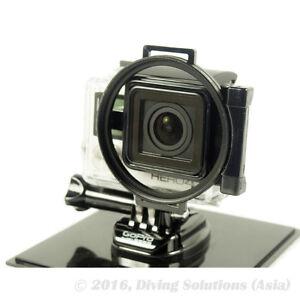 58mm Lens Filter Adapter Ring GoPro Hero 3+/4