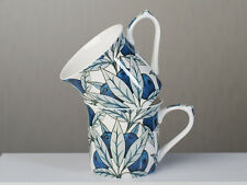 Set of 2 V&A Fruit FINE BONE CHINA MUGS In Gift Box
