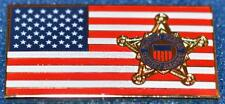Secret Service Flag Lapel Pin 2016 President Donald Trump Barack Obama POTUS