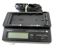(US) Used SONY Original AC-VQ850 Battery Charger for NP-F000 NP-FM330 F950 F750