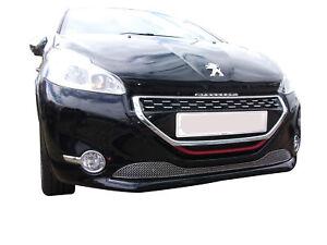 Peugeot 208 - Calandre avant - Finition argent (2012 à 2018)