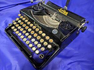 Vintage 1930s Seidel & Naumann Erika 5 Typewriter - Dresden Germany - Works