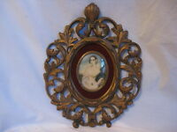 elegant vintage Cameo Creation wall decor ornate Regency Isabella Montgomery