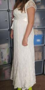 Brautkleid hochzeitskleid Umstandskleid Gr 2 (36 38) Tiffany Rose