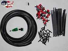 Drip Irrigation System, Plant Self Watering, Garden Hose Kits, for 15 plants.