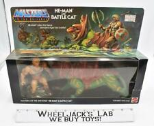 He-Man & Battle Cat New SEALED 1981 He-Man MOTU Masters of the Universe Mattel