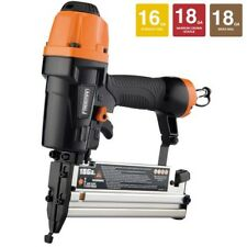 Finishing Nailer & Stapler Pneumatic 16/18 Gauge Air Nail Gun 60 PSI Crown Brad