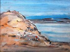 MORDECHAI AVNIEL (1910-1999), Oil on Board, Seascape , Signed