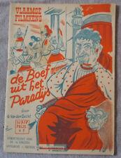Vlaamse Filmkens N°317 De Boef uit het Paradijs Averbode