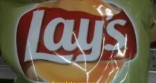 CANADIAN LAYS DILL PICKLE 6 LARGE BAGS OF POTATO CHIPS FACTORY SEALED