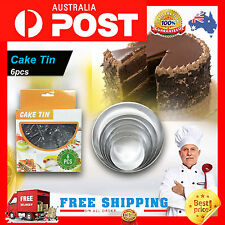 Round Cake Muffin Pan Tin Baking Bread Mould Tools AUSTRALIAN SELLER