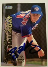 Roy Halladay Signed / Autographed Fleer Tradition Rookie Card. RIP