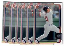 2015 Bowman Draft Baseball #133 Michael Chavis Boston Red Sox LOT(6)