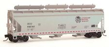 JTC - ACF 3-Bay Center Flow Covered Hopper w/Elongated Hatches  (SOO Line / CP)