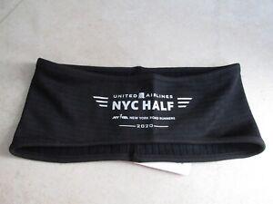 NEW New Balance 2020 NYC Half Marathon Headband/Sweatband Black $20.00