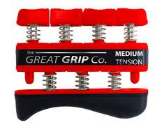 The GREAT GRIP™  Red, Medium - 7 lbs resistance per finger LIFETIME WARRANTY
