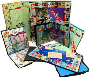 MIscellaneous Monopoly Boards - INDIVIDUAL REPLACEMENT BOARDS - BOARDS ONLY