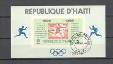 A 2250 - HAITI 1968 - FOGLIETTO N° 26A - MARATONE OLIMPIADI  - VEDI FOTO