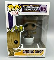 🔥Funko POP! Marvel #65 Dancing Groot Guardians of the Galaxy Vaulted Rare
