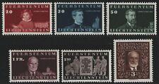 Liechtenstein 1940 - Mi-Nr. 186-191 ** - MNH - Fürst Johann II (II)