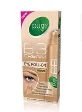 1 x Pure BB Cream Eye Roll-On  Medium 10ml | Reduces Dark Circles Paraben Free